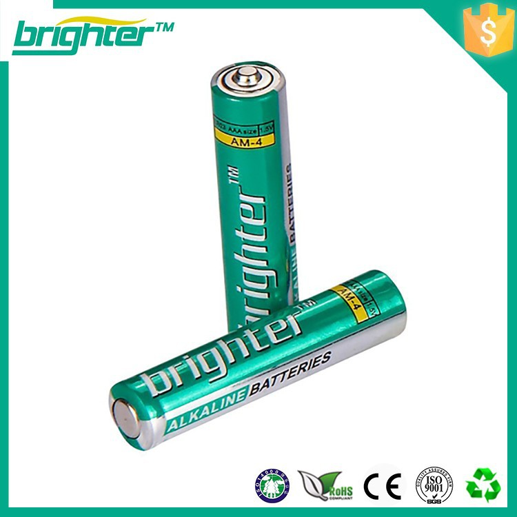 Deep cycle life aa rechargeable alkaline battery