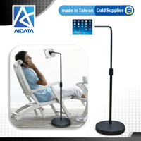 Hands Free Rotating Bracket for iPad with Extending Arm Height Adjustable Tablet Stand