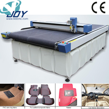 Small production single layer cnc cutting machine for kt board, cardboard, paper