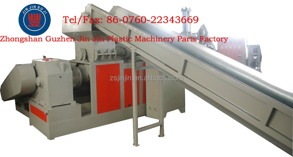 Waste plastic hdpe recycling equipment machinery, China factory supply pe film production line machine