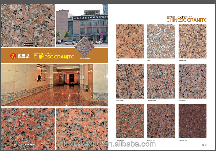 Chinese granite, Prices of granite per meter
