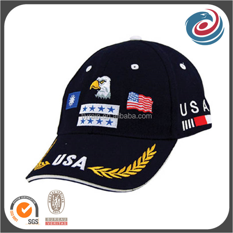 army style embroidery baseball cap military hat