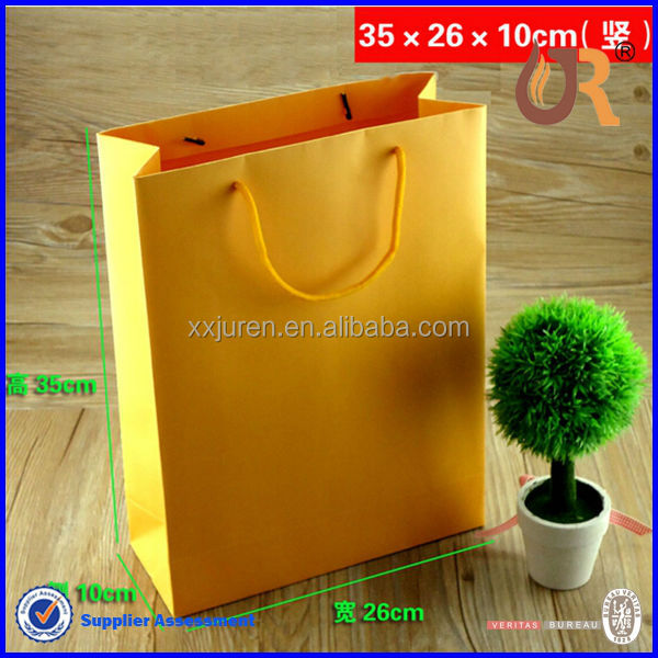 custom paper shopping bag with string