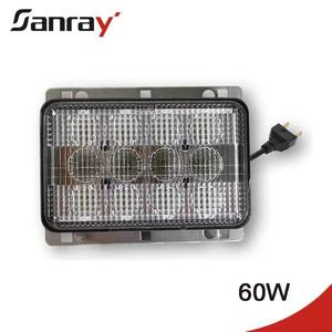 RE269110 Heavy duty vehicle 3800lm Hi/low beam water intrusion led headlamp