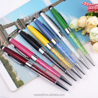 Christmas crystal touch stylus bling ballpoint pen