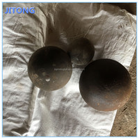 unbreakable forged steel ball used in power station