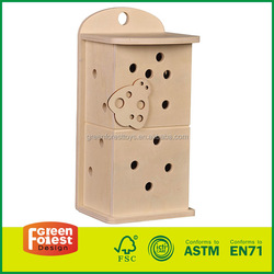 Handmade Wooden Insect House For Garden Play