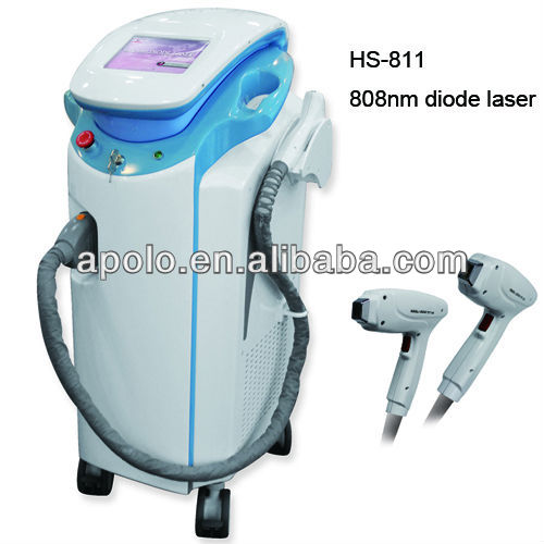 2013 best selling 808 diode laser hair removal machine (HS 811) by China med apolo