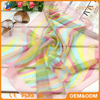 Summer New super soft professional business women scarves 100 silk scarf manufacturer