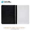 Hot Sale!!! High- quality DIY Sublimation PU Leather Phone Case For iPad Air 2 , new style customized flip cover