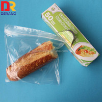 LDPE Heat seal zip lock bag for food