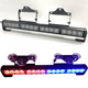 18.5 inch 12V 24V 16LED liner light easy installation truck UTV LED strobe light