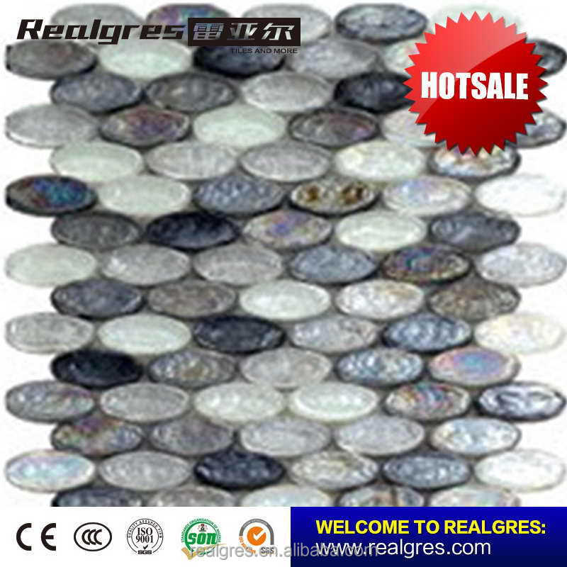 Excellent quality elegant blue swimming pool mosaic tileol tile