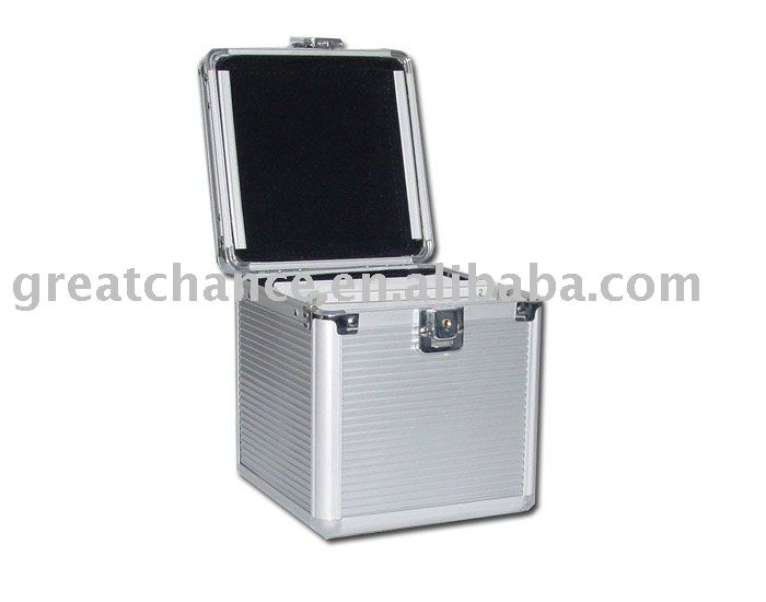 CD/DVD Aluminum Storage Case - Aluminum CD Case - CD/DVD Storage Case