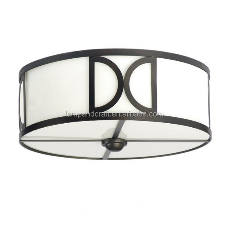 five star hotel modern living room black metal ceiling lamp