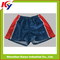 Dry Fit Rugby Shorts Sponsor Logo