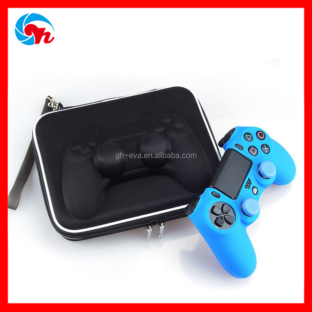 High-density hard controller shaped waterproof silicone case for ps4 controller