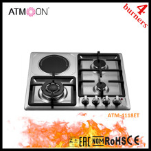 New Kind Stianless Steel Gas Electric Combination Cookers