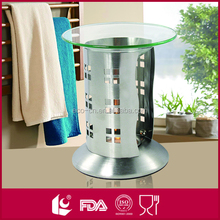 Wholesale stainless steel bulk oil burners with candle holder