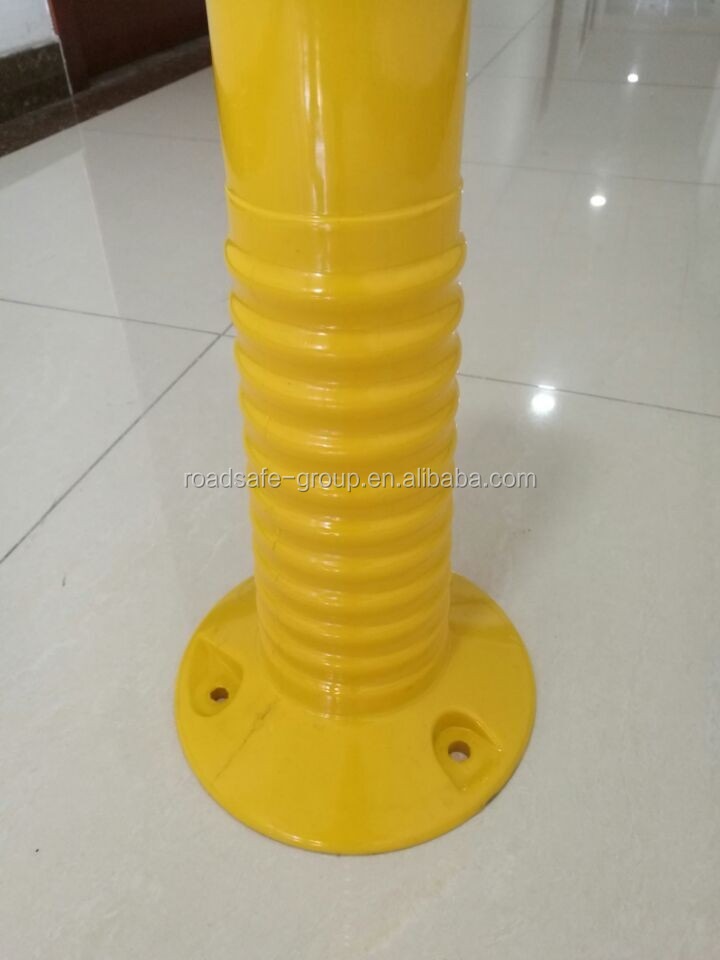 Highway safety guide post flexible road delineator post