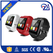 V Tech U8 Smart Watches Bluetooth 3.0 Silicone Wristband Sport Watch for Apple iOS