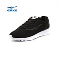 2017 hot sales summer breathable mesh black ERKE brand sports shoes man running