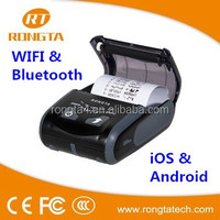 FCC Certified Bluetooth Mobile Thermal Printer RPP200 with 1600 mAh Rechargeable Li-ion Battery
