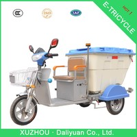 electric garbage commercial tricycles for passengers tricycles transporter