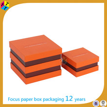 rectangular gift with lid chocolate bar box packaging