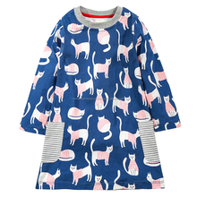 hot sale new style printing pakistani frocks boutique children dresses