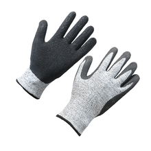 Top quality anti-static latex cut resistant glove