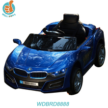 WDBRD8888 Newest Design Battery Rechargeable Operated Toy Car With Remote Control And Key Start