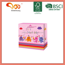 Fashion Kids Paper Gift bags for Gift Packaging 2014 New Style Bag Pro Manufacture Customize Design