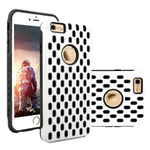 C&T Hybrid Dual Layer Protective Cover Hard + Soft Heavy Duty Armor Case for Apple iPhone 6 / iPhone 6S (4.7 inch)