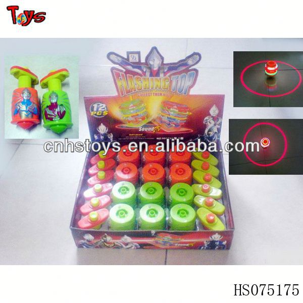 Very funny flash laser top toys