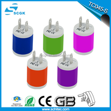 Hot sale micro usb wall charger 5V 1000mA with Ce Rohs FCC