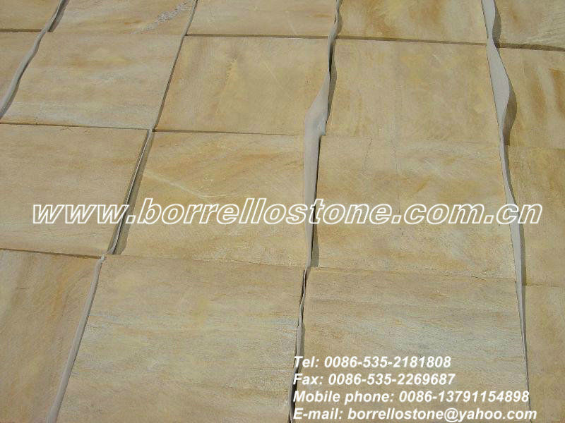 Chinese Gold Sand Stone For Floor