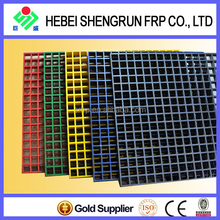 Professional FRP Grating Machine Manufacturer Catwalk Decking Grating With Excellent Loadability
