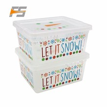 Total Quality Controled Christmas Plastic Molding Military Storage Box Container