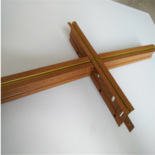 Suspended ceiling tee grid and frame for gypsum tiles