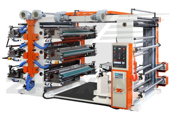 YT Series Six-colour Flexo food paper bag printing machine