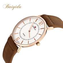 Simple style fashion classic custom brand couple lover watch