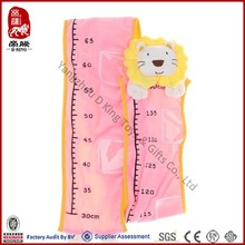 Wholesale ICTI SEDEX Baby growth bear plush height charts