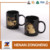 Personalized custom black cup ceramic mugs for sale