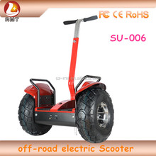 2016 19inch off road Hot Sale Colorful High Speed and Good Working Magic Wheel Electric Scooter