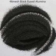 biack aluminum oxide/ polishing alumina powder/black fused alumina for abrasives