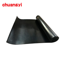 High Density 1-100mm Neoprene cloth insertion rubber sheet