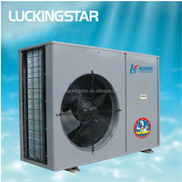 3.6kW / 5.3kW / 8.0kW Midea monobloc DC Inverter Air & Water Source Heat Pump, Heating&Cooling&Hot Water energy-saving solution