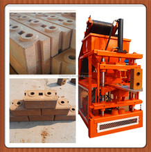 2-10 BP714 habitech interlocking block machine /ceb compressed earth automatic brick machine /clay bricks