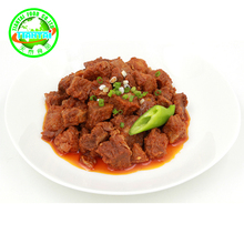 Philippine food products Canned food name brand Spiced pork cubes